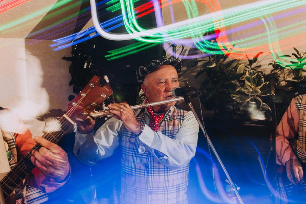 kapela podwórkowa grająca na weselu pod Rzeszowem