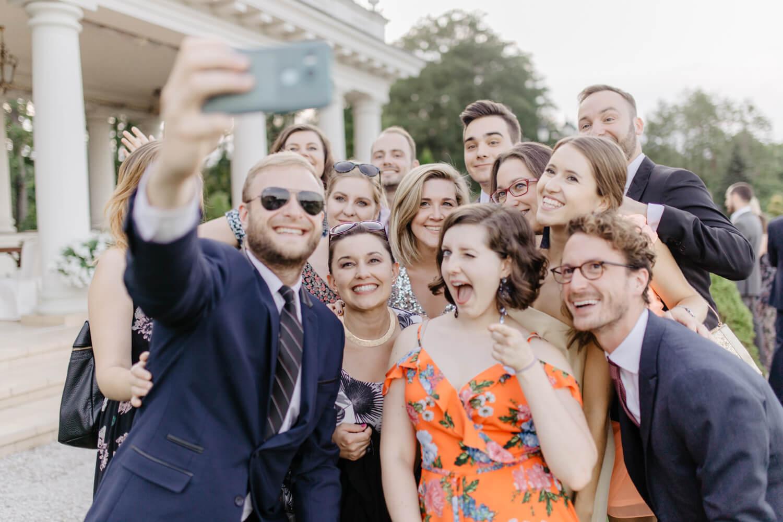 zagraniczni goście na weselu