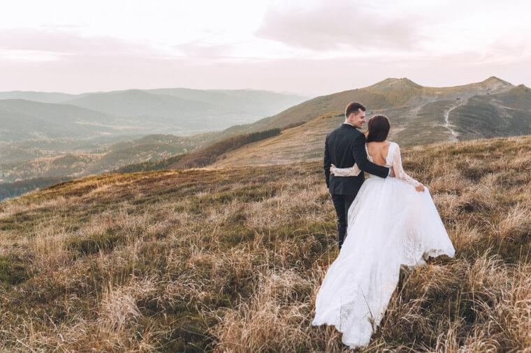 Zdjęciowa sesja poślubna w Bieszczadach 32