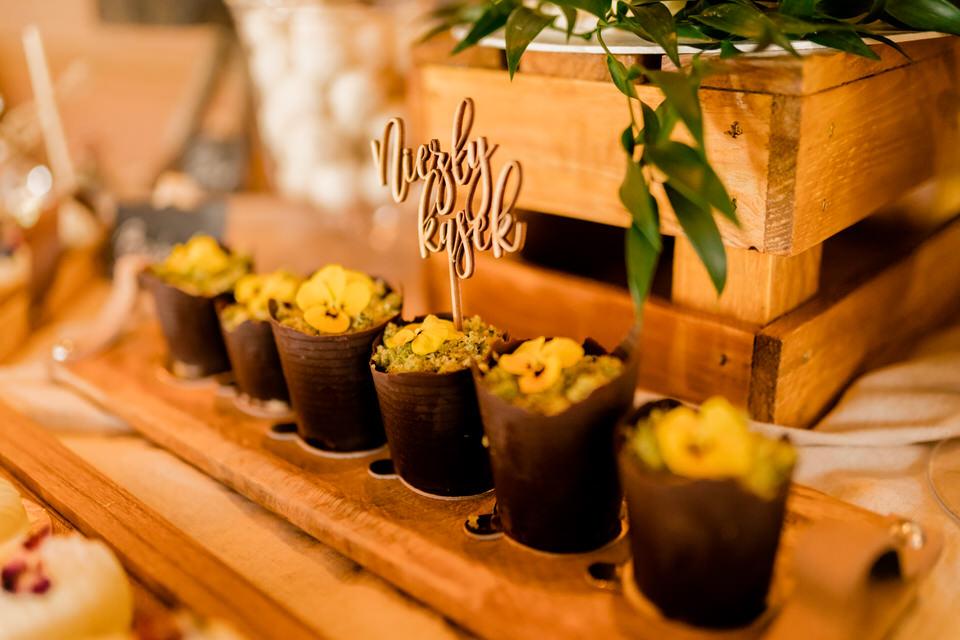 słodki stolik na wesele moder artystyczne wypieki kraków