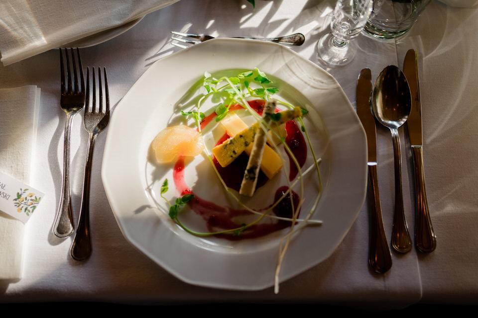 wegetariańskie menu wesele