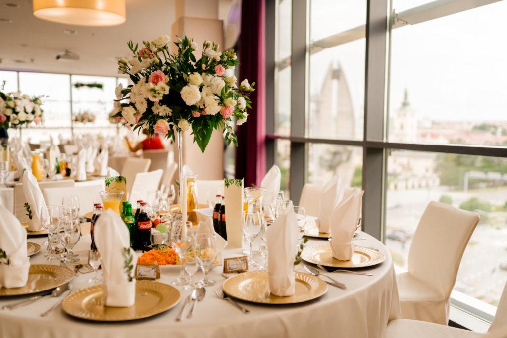 hotel rzeszów wesele dekoracja widok