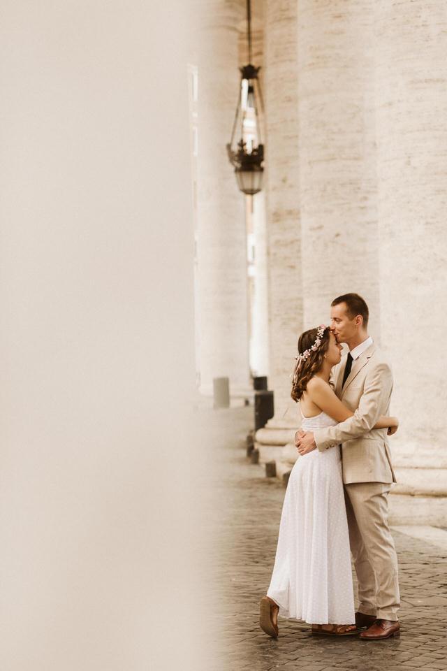 Ślub na Watykanie - fotograf ślubny w Rzymie