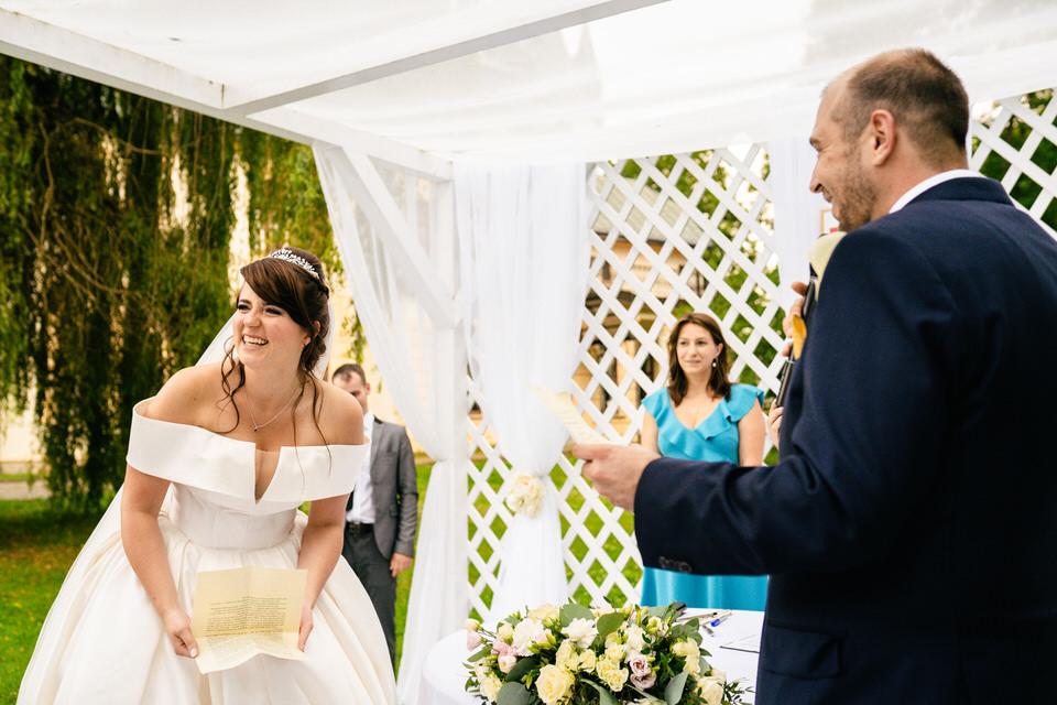 Międzynarodowy ślub plenerowy cywilny fotograf